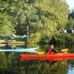 SUP mit Naturerlebnis auf der Hunte mit Stand-UP-Paddler.de und NABU