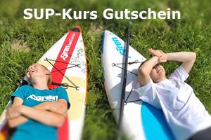 SUP Kurs - Gutschein SUP Verschenken