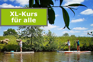 SUP Lernen - Kurs in Oldenburg stand up Paddler